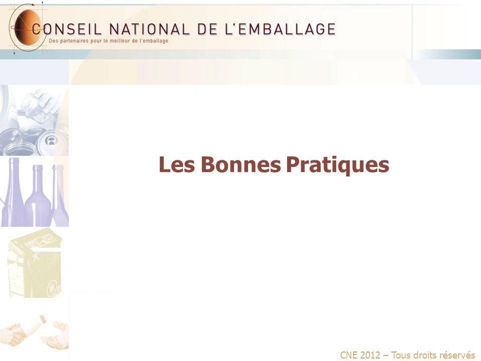 Les Bonnes Pratiques CNE 2012 – Tous droits réservés