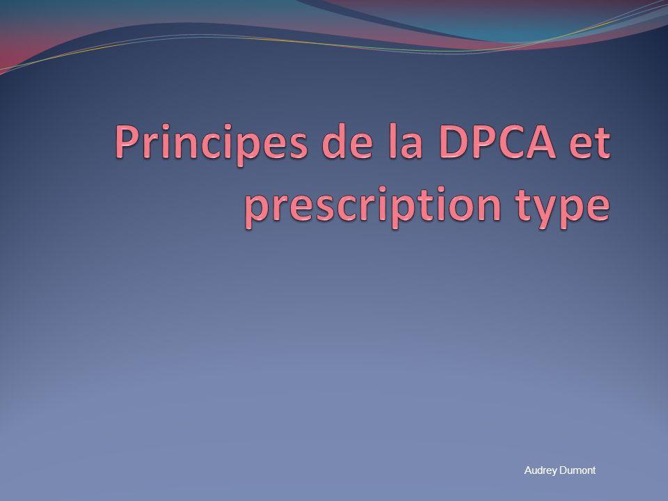 Principes de la DPCA DPCA: Dialyse Péritonéale Continue Ambulatoire 3 à 5 échanges manuels par jour de 1.5 à 3 litres (standard 2 litres) Cycles plus longs quen DPA Péritoine vide la nuit « Dialyse à léquilibre »