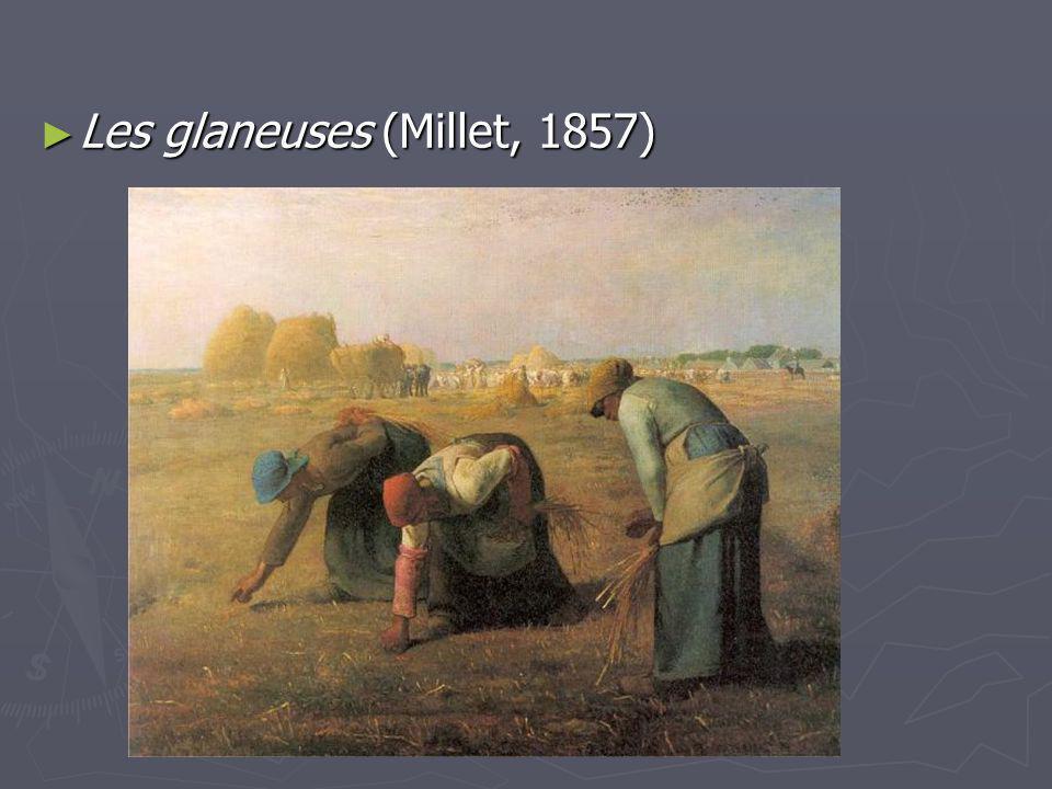 Les glaneuses (Millet, 1857) Les glaneuses (Millet, 1857)