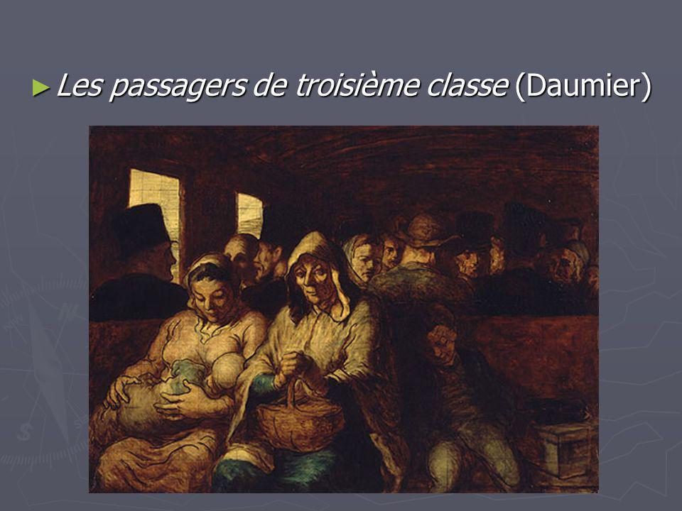 Les passagers de troisième classe (Daumier) Les passagers de troisième classe (Daumier)