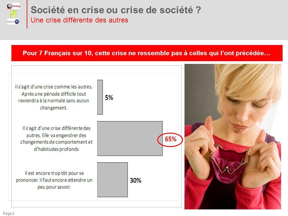 Page 2 Société en crise ou crise de société .