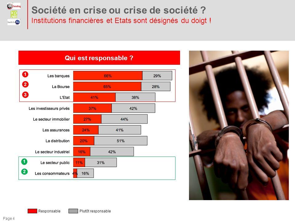 Page 5 Société en crise ou crise de société .Larme anticrise .