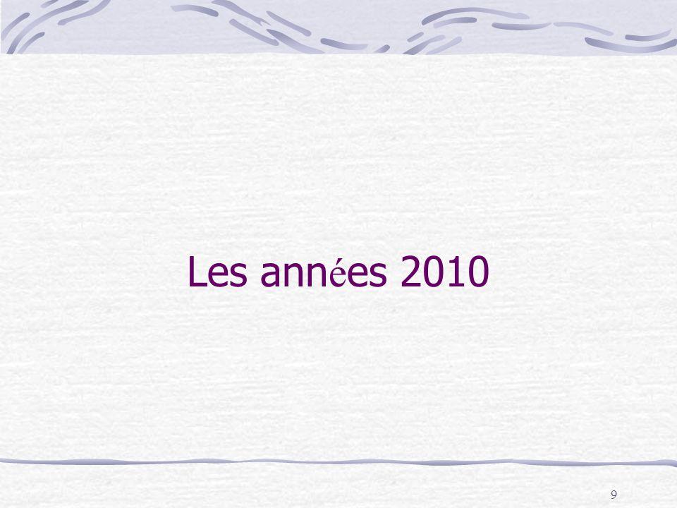 9 Les ann é es 2010