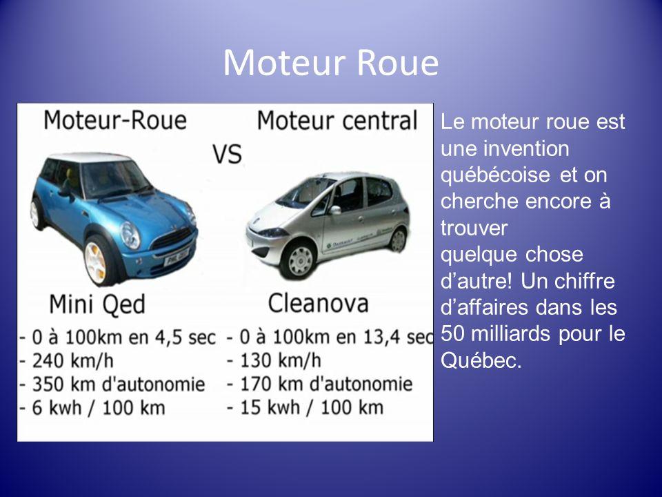 Moteur Roue Le moteur roue est une invention québécoise et on cherche encore à trouver quelque chose dautre! Un chiffre daffaires dans les 50 milliard