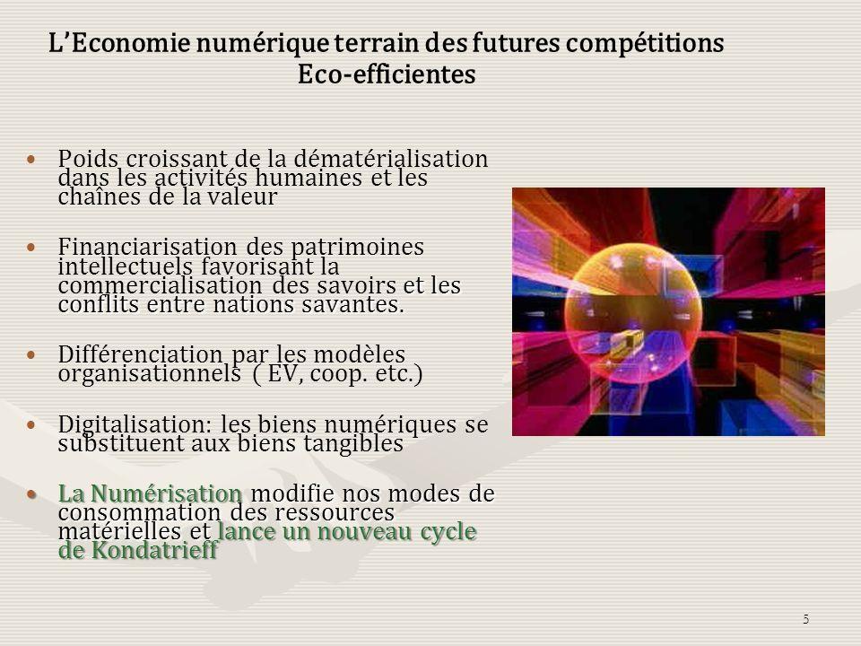 Mutations du monde sous linfluence des technologies Les trois leviers : Immatériel, numérisation et Infrastructures des Télécoms. … Choc Culturel: Sur