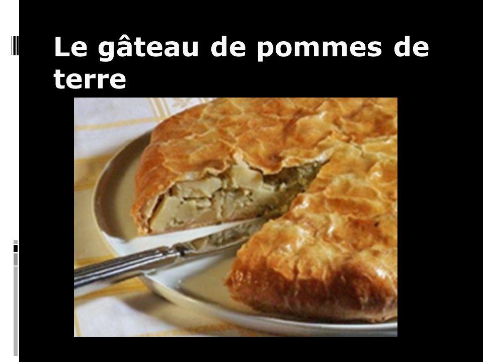 Le gâteau de pommes de terre