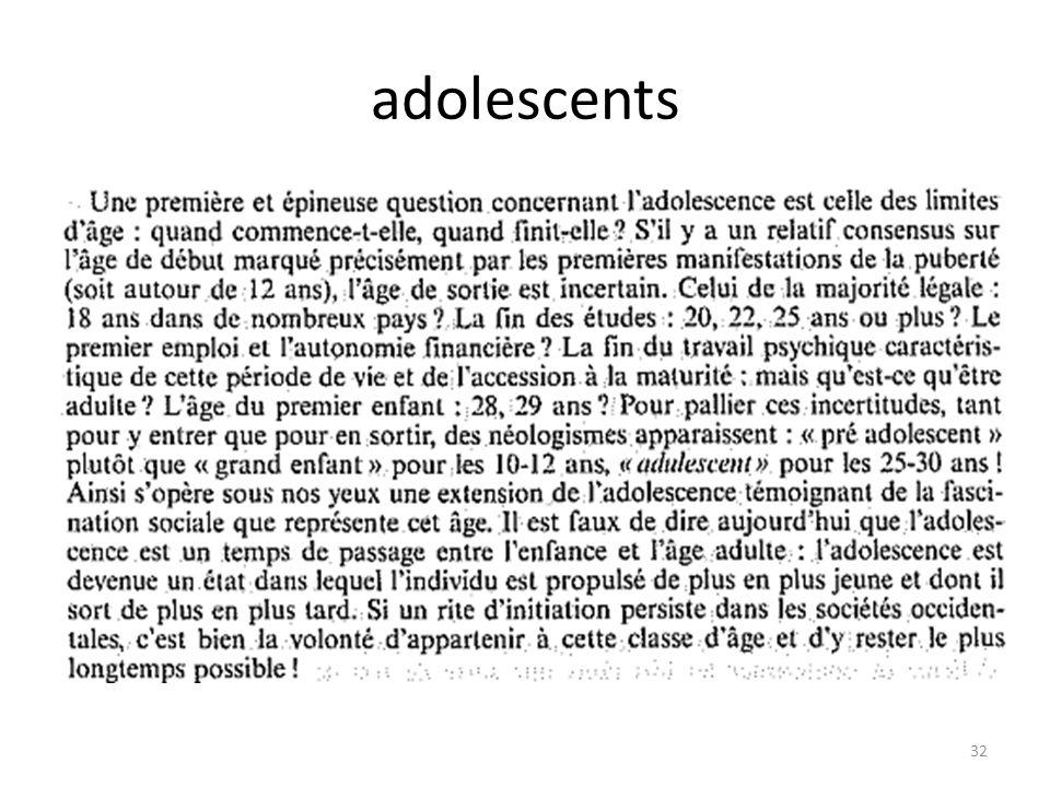 adolescents 32