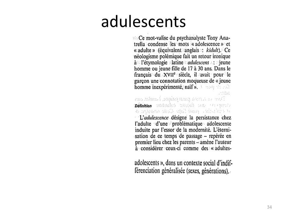adulescents 34