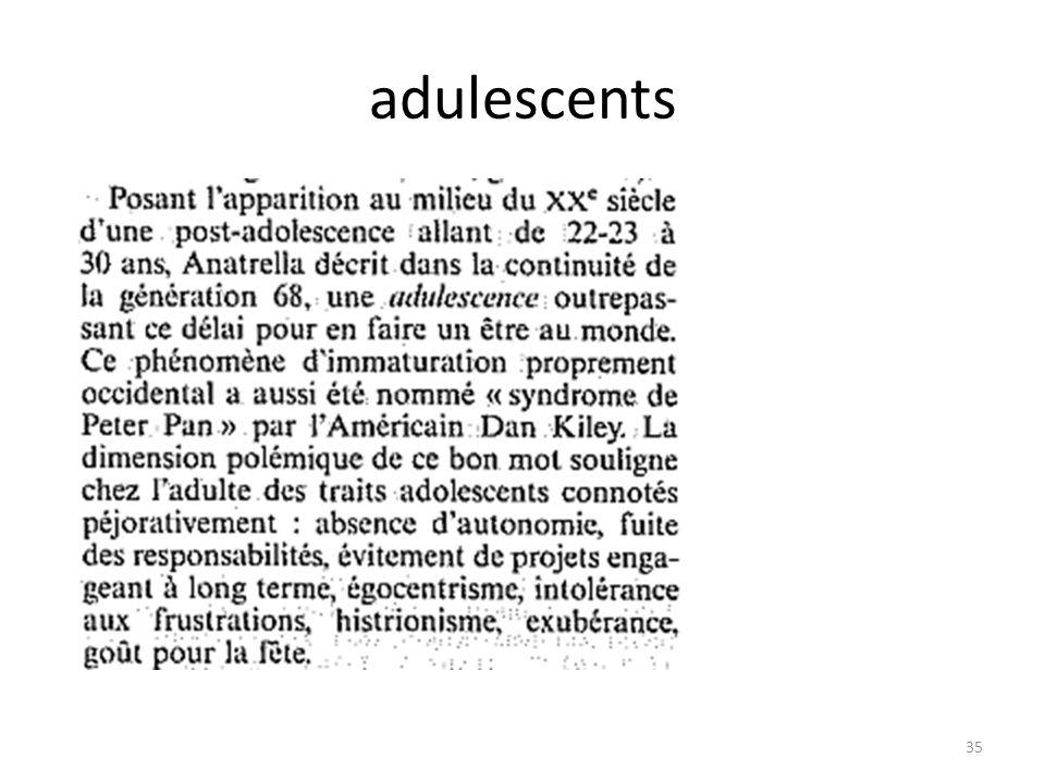 adulescents 35