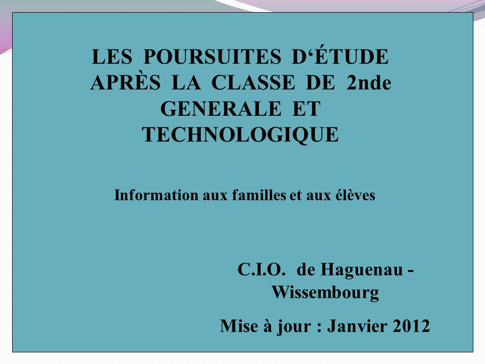 Autres bacs technologiques Accès 2nde spécifique - BTn HôtellerieSTRASBOURG - BTn techniques de la musique et de la danse Nancy, Metz, Besançon C.I.O.