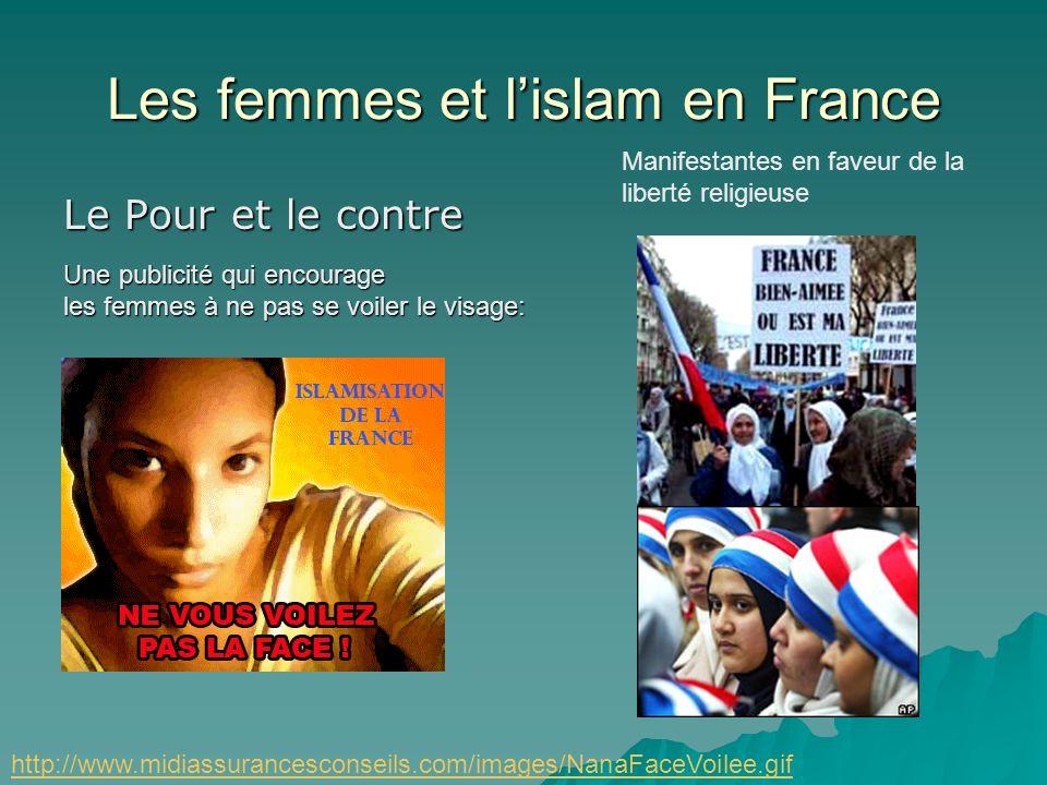 Les femmes et lislam en France Pour quelles raisons les filles mettent-elles un foulard? par pression des parents ou des amies par pression des parent