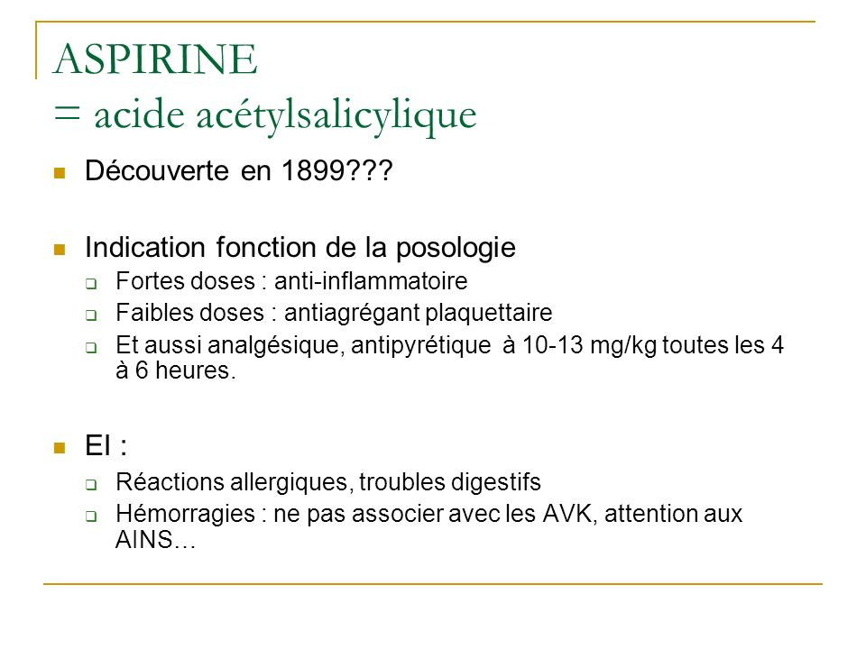 ibuprofèneADVIL, NUREFLEX, BRUFEN UPFEN, ANTARENE kétoprofèneTOPREC (antalgique) PROFENID, KETUM (anti-inflammatoire) diclofénacVOLTARENE, FLECTOR, XENID flurbiprofèneCEBUTID, ANTADYS naproxèneAPRANAX Ac tiaproféniqueSURGAM, FLANID célécoxibCELEBREX Acide nifluniqueNIFLURIL, piroxicamBREXIN, FELDENE, indométacineINDOCID, CHRONO-INDOCID