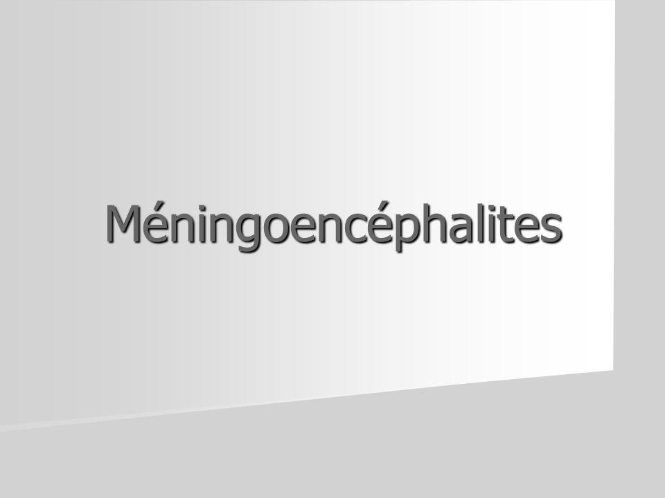 Méningoencéphalites
