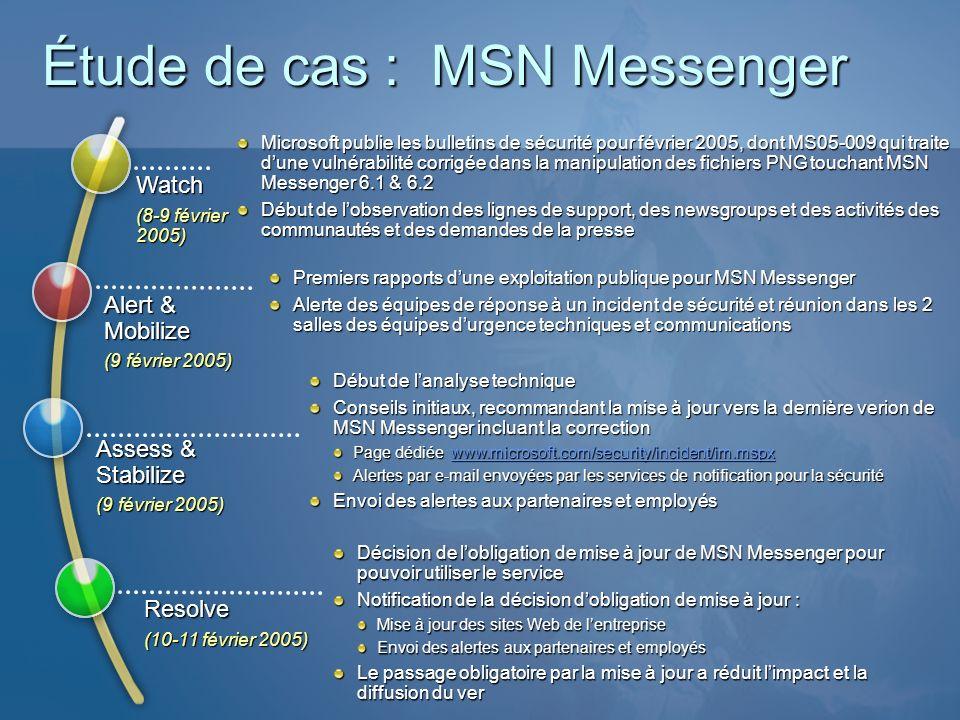 Microsoft publie les bulletins de sécurité pour février 2005, dont MS05-009 qui traite dune vulnérabilité corrigée dans la manipulation des fichiers P