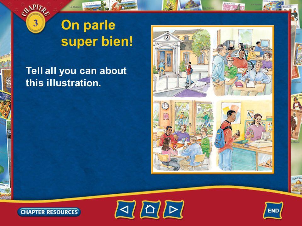 3 Prononciation Les sons /é/ et /è/ 2. Listen to the word élève. It has two distinct vowel sounds. The sound /é/ is closed and the sound /è/ is open.