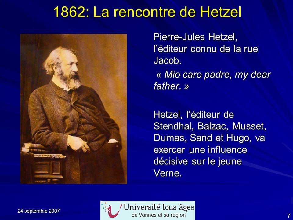 24 septembre 2007 28 Les véhicules imaginés par Jules Verne