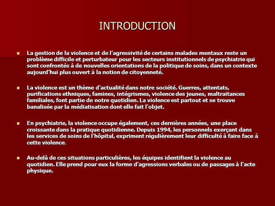 1.Dangerosité psychiatrique Définitions Définitions 1.1La violence En latin violentia (ae) signifie la force, le caractère farouche; le mot apparaîtra dans la langue française au XVIIIème siècle.