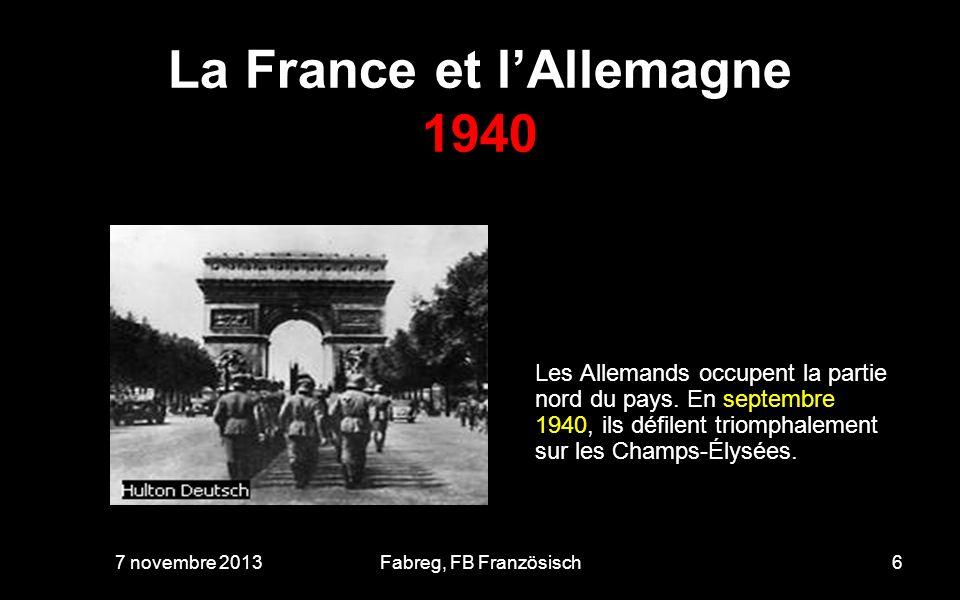 La France et lAllemagne 1940 24 octobre 1940 Le maréchal Pétain rencontre Hitler.