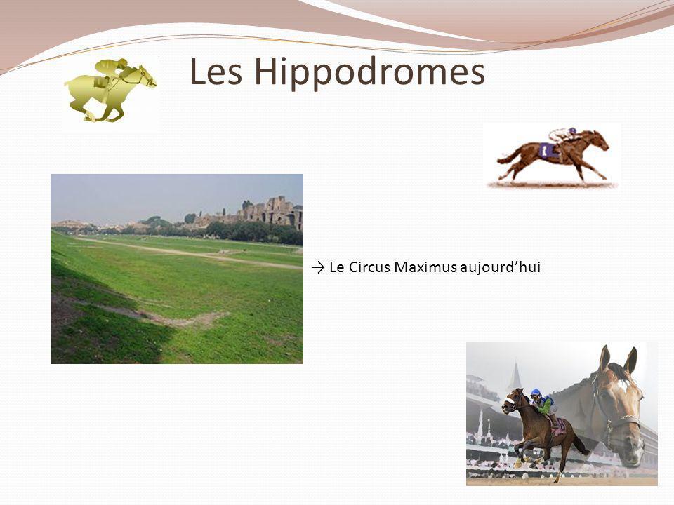 Les Hippodromes Le Circus Maximus aujourdhui
