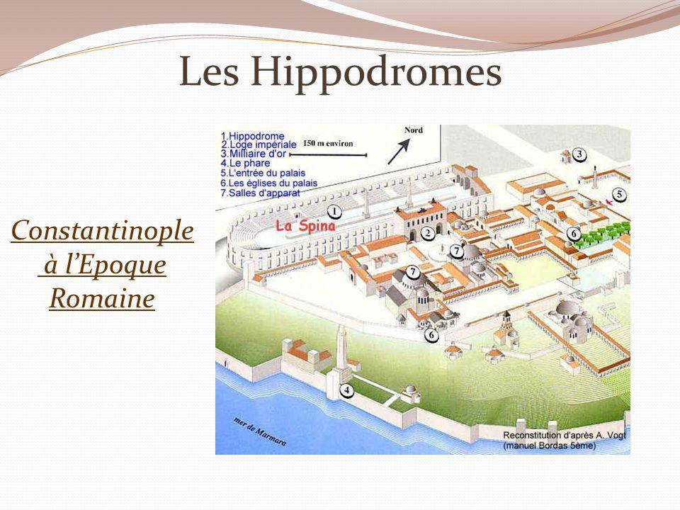 Les Hippodromes Constantinople à lEpoque Romaine