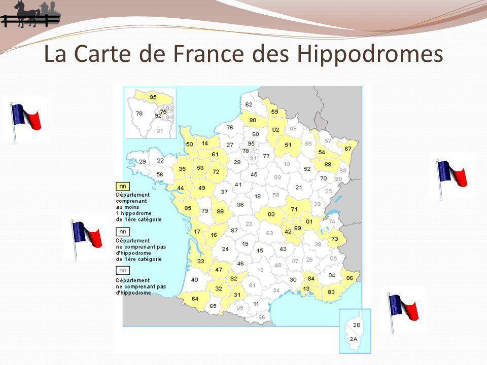 La Carte de France des Hippodromes