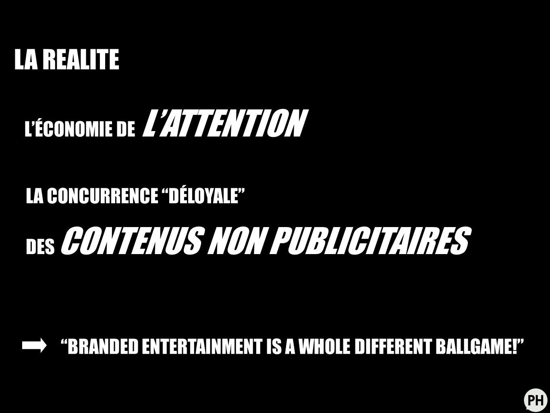 A/ PLANNING/CONCEPTION: RIGHT ON BRAND/ RIGHT ON POP CULTURE FACTEURS CLÉS DE SUCCÈS B/ ÉCRITURE, RÉALISATION, PRODUCTION: NOUVEAUX ACTEURS, NOUVELLE CHAÎNE DE VALEUR C/ BUZZ, MÉDIATISATION, DIFFUSION: 3 ÉLÉMENTS ESSENTIELS ET DISTINCTS!
