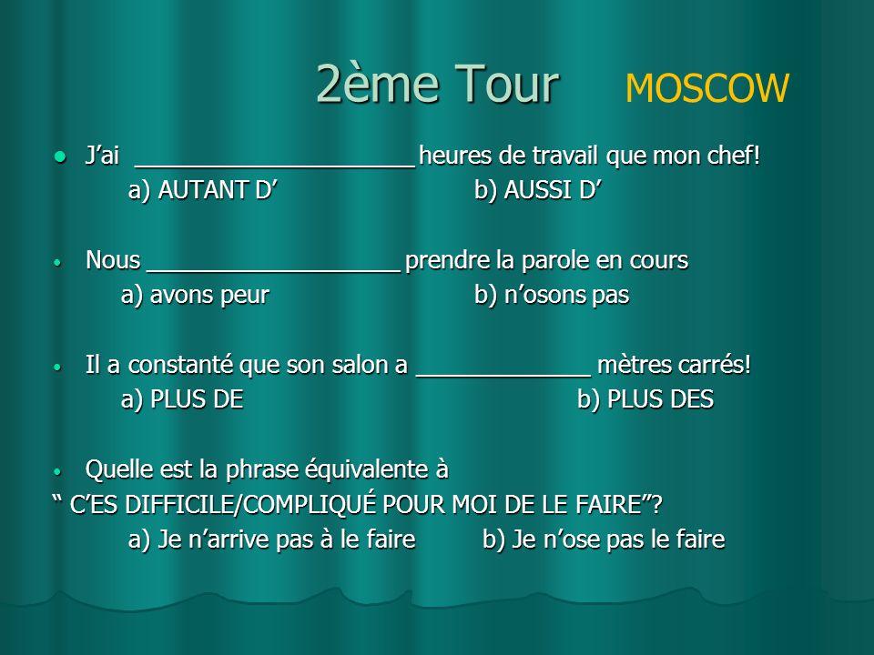 Premier Tour QUEL EST LE PARTICIPE PASSÉ DU VERBE APPARAÎTRE.
