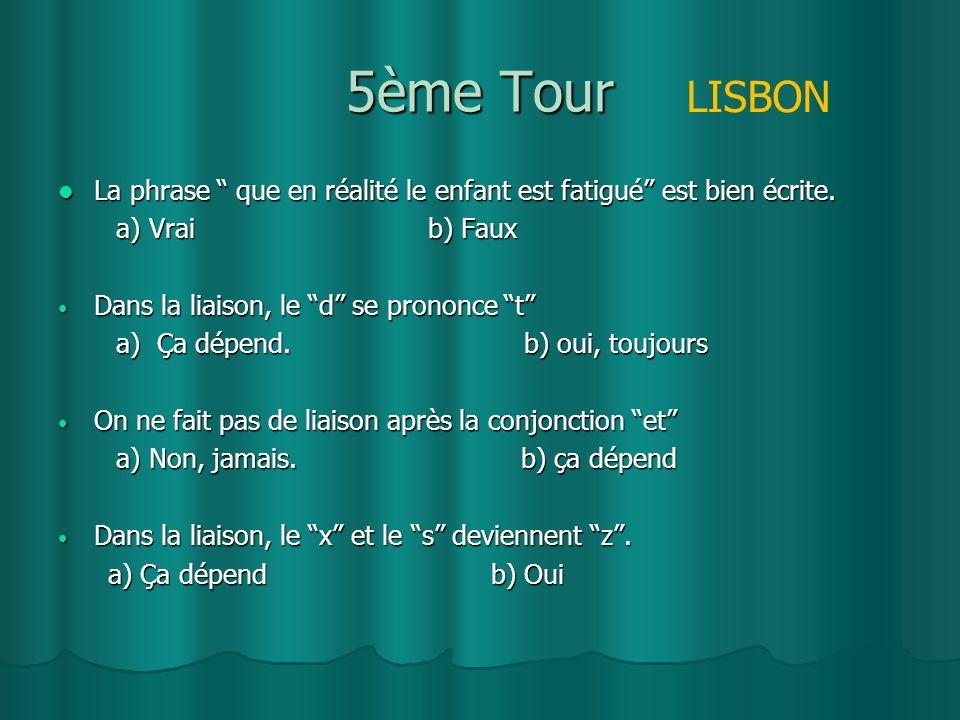 4ème Tour On __ apprend à écrire et à parler en français : lEOI POZOBLANCO.