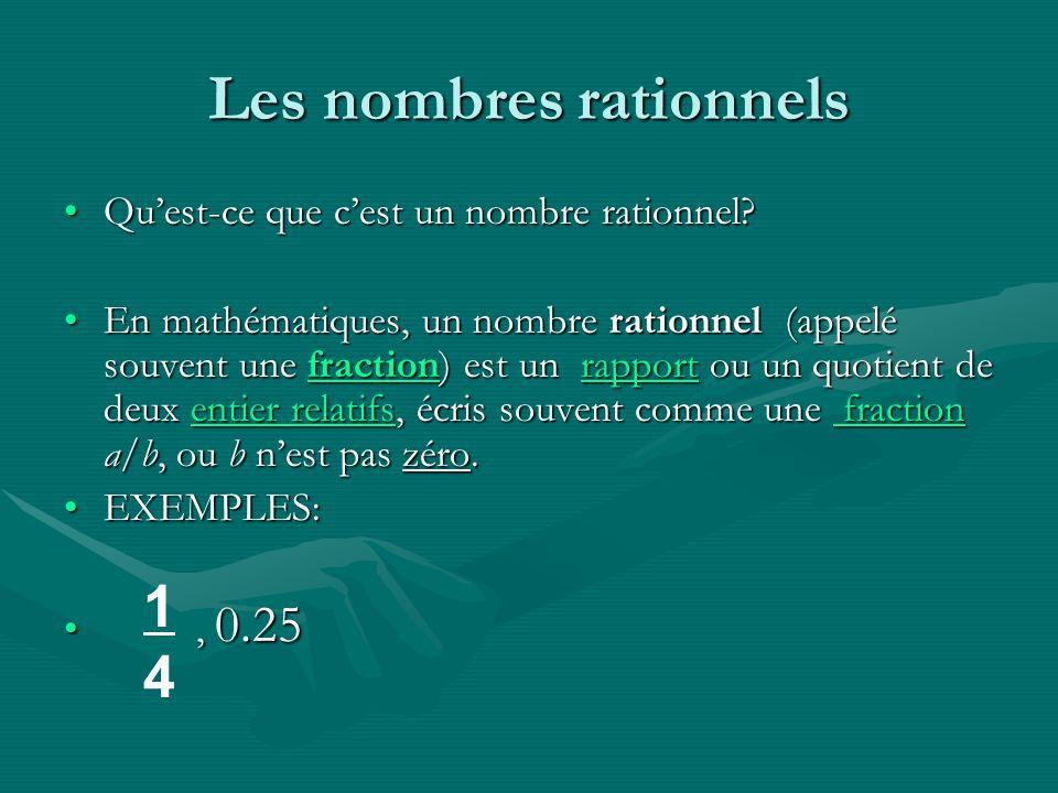 Multiplie les dénominateurs des fractions Afin de diviser les Fractions: Afin de diviser les Fractions: Multiplie la réciproque du deuxième terme ( fraction).