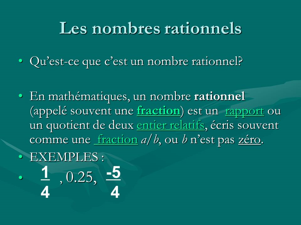 SOUSTRAIRE LES FRACTIONS Afin de soustraire les fractions qui ont des différentes dénominateurs: Trouve le PPCM des deux dénominateurs Réécris la fraction a laide du PPCM Soustrait les numérateurs des fractions La différence sera le numérateur et le PPCM sera le dénominateur de la réponse.
