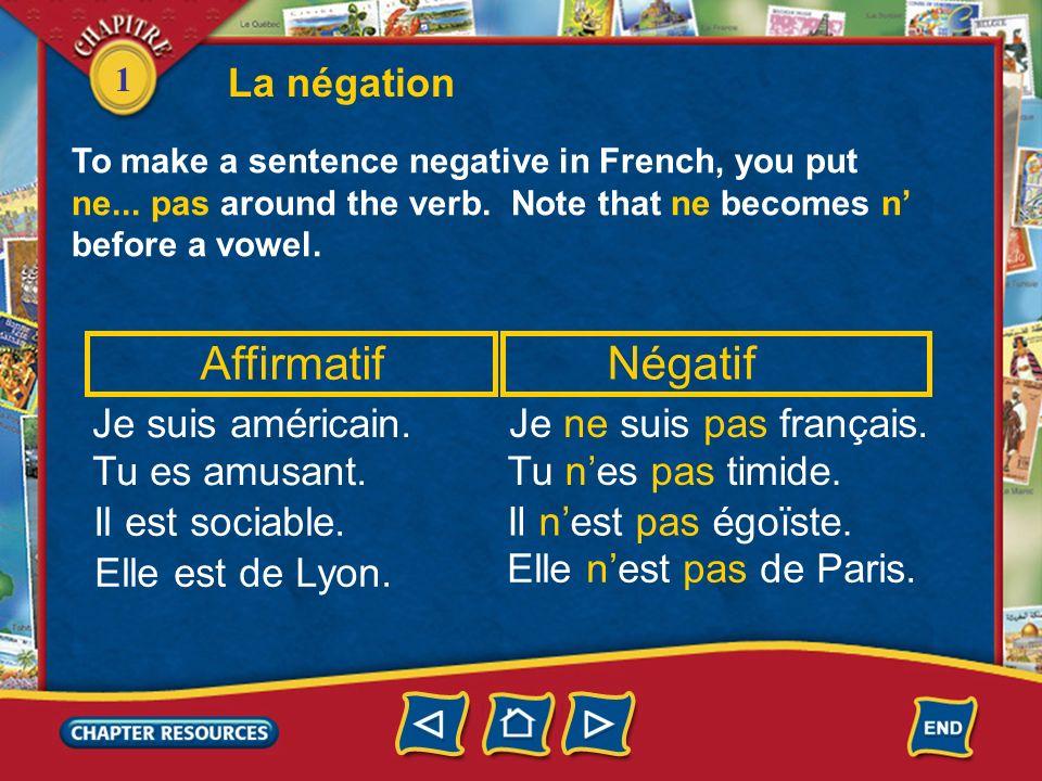 1 1. Il ________ de Paris. Answer: es Le verbe être au singulier Complete with the correct form of être. Answer: est 2. Tu ________ de Lyon? 3. Je ___