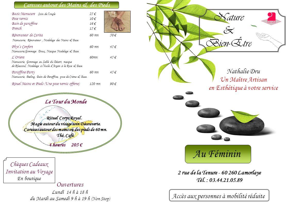 Vinothérapie Royale120 mn 115 Vinothérapie « sans Hammam » 90 mn95 « Hammam », Gommage au mout de raisin et miel de Lavande, Enveloppement de Mousse de Raisin, Modelage à lHuile de Pépin.