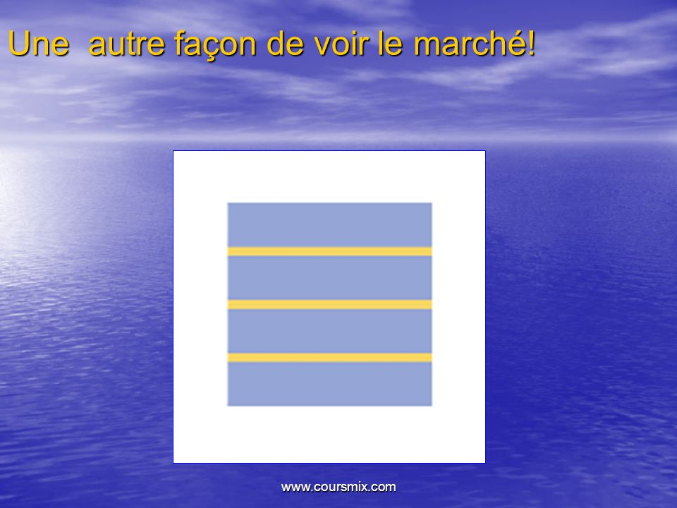 www.coursmix.com Une autre façon de voir le marché!