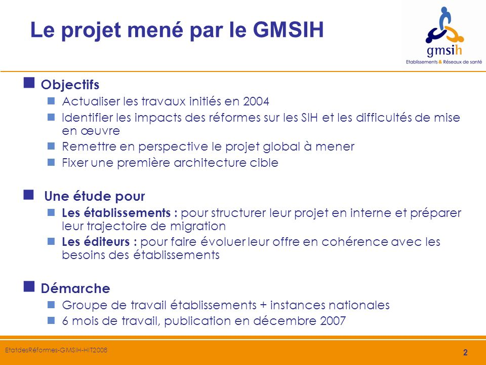 3 EtatdesRéformes-GMSIH-HIT2008