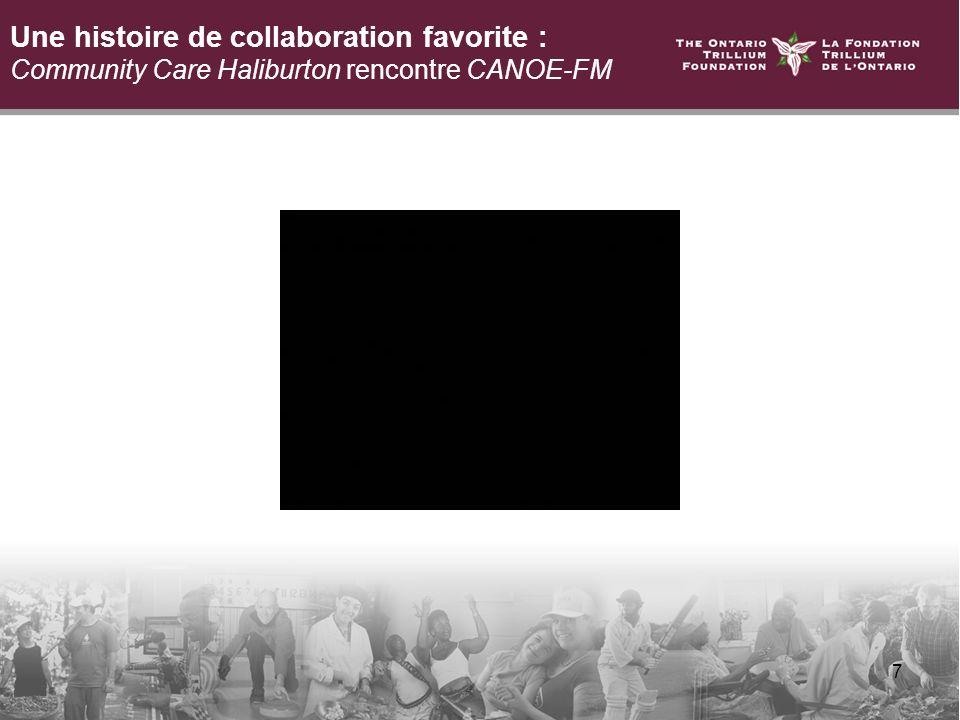 7 Une histoire de collaboration favorite : Community Care Haliburton rencontre CANOE-FM