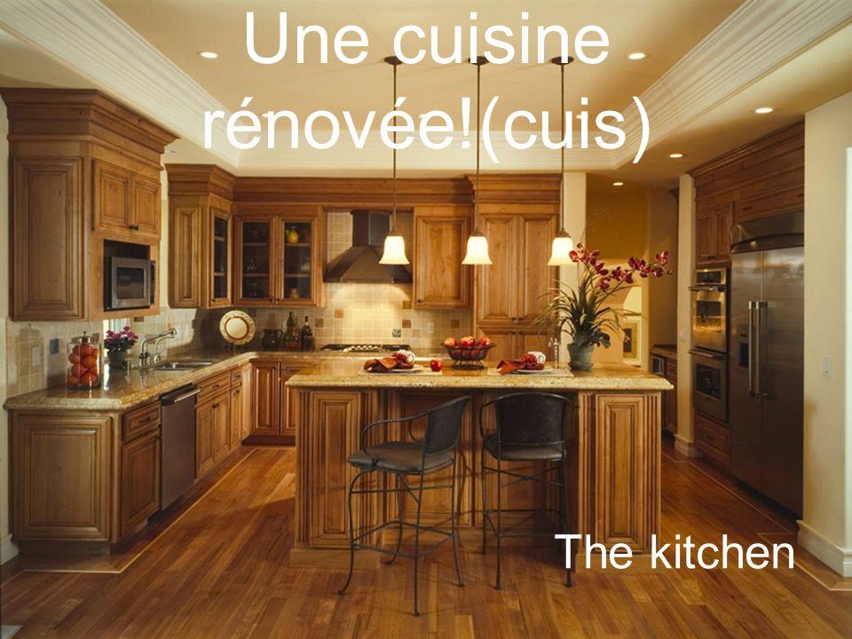 Une cuisine rénovée!(cuis) The kitchen
