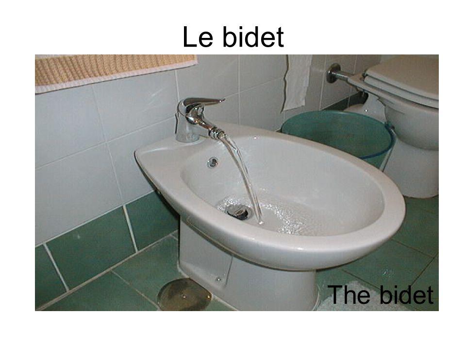 Le bidet The bidet