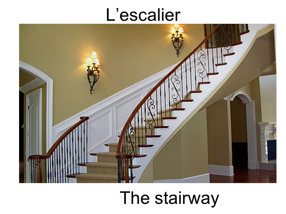 Lescalier The stairway