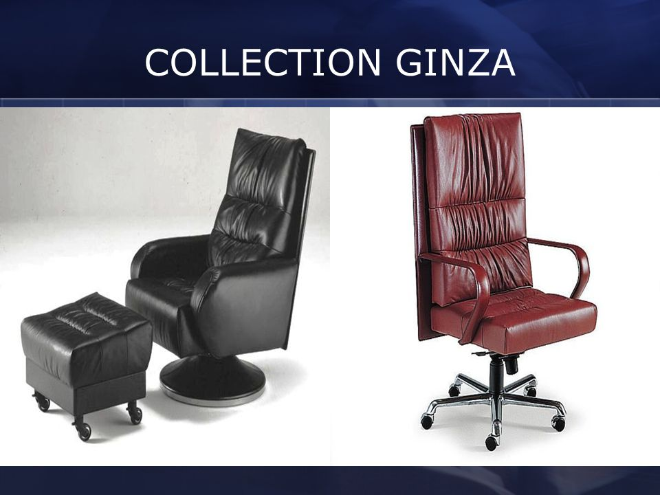 COLLECTION GINZA