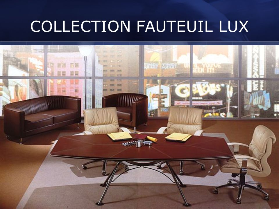 COLLECTION FAUTEUIL LUX
