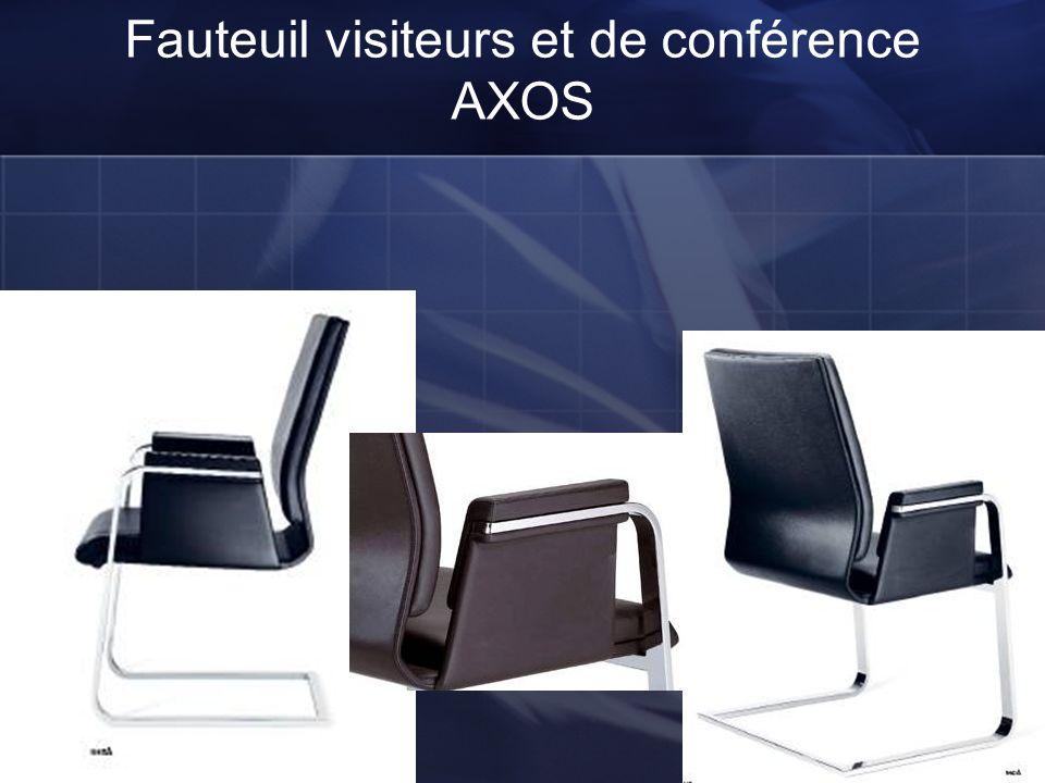 Fauteuil AXOS DOSSIER MOYEN Fauteuil de travail de conférence