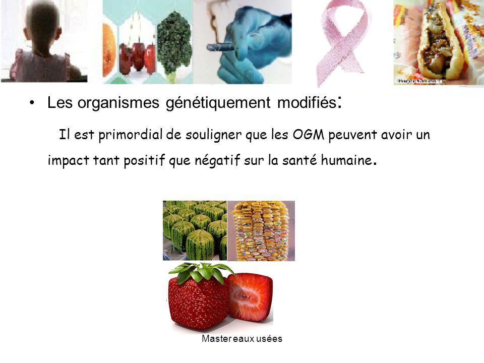 Les organismes génétiquement modifiés : Il est primordial de souligner que les OGM peuvent avoir un impact tant positif que négatif sur la santé humai