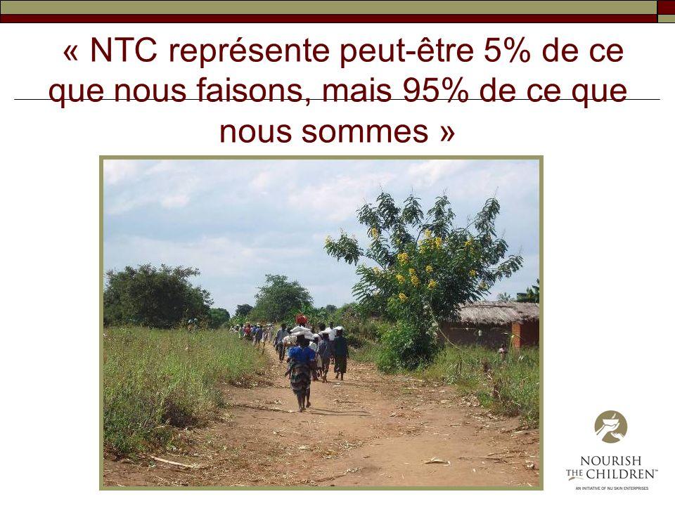 « NTC représente peut-être 5% de ce que nous faisons, mais 95% de ce que nous sommes »