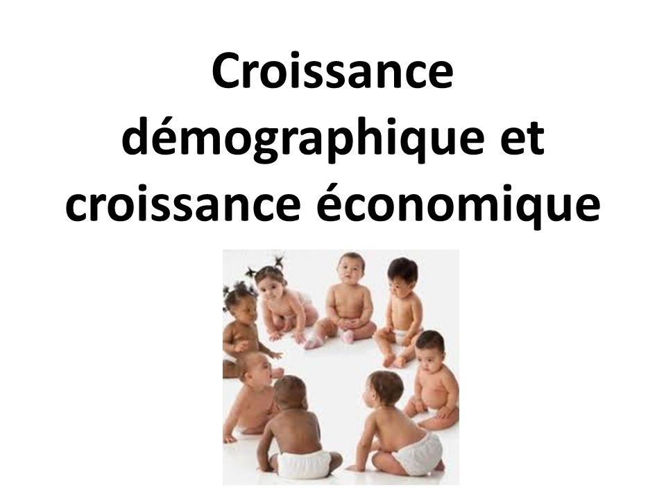 I) Lévolution séculaire de la structure démographique