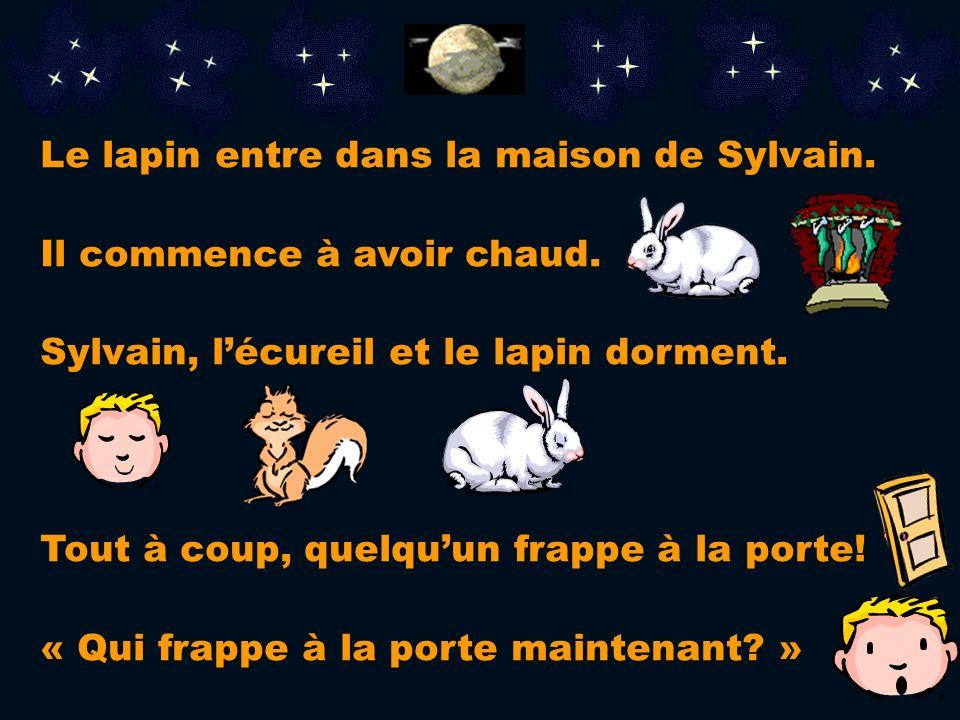 Jai très froid! Il y a de la neige sur mon lit et je ne peux pas dormir! » « Pauvre petit! » dit Sylvain Viens, ma maison est assez grande pour trois!