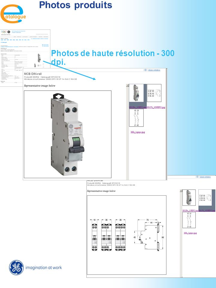 Photos produits Photos de haute résolution - 300 dpi.