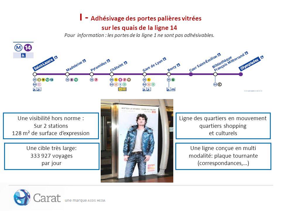 II/Massif Couloirs Présence en Massifs couloirs à Bastille en format 200x150 (homothétique au 4x3) Du 6 au 12 juin