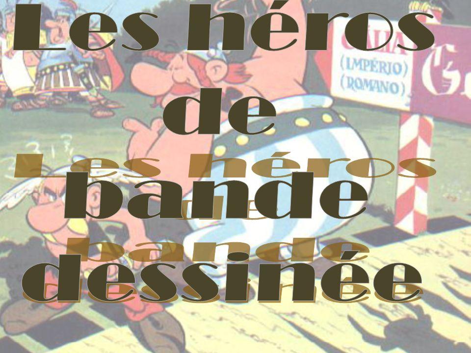 Les grandes séries de bande dessinée de la France sont: Gaston Lagaffe de André Franquin Spirou et Fantasio créé par Rob-Vel et repris par Franquin.