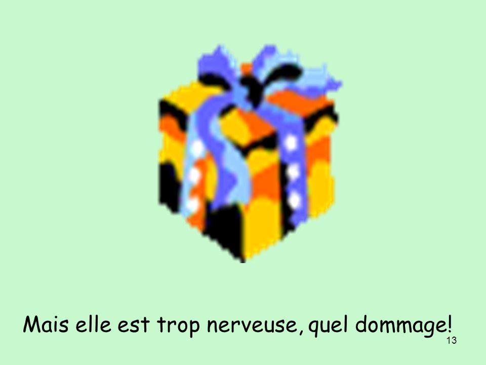 12 Samedi, je reçois un cadeau. Quelle surprise !