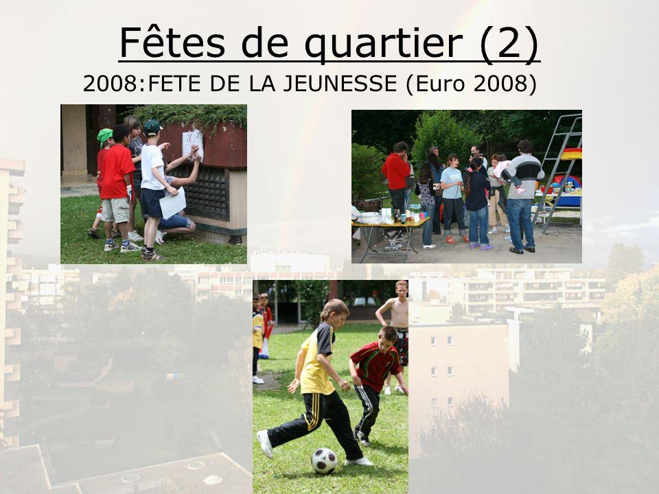 Fêtes de quartier (2) 2008:FETE DE LA JEUNESSE (Euro 2008)
